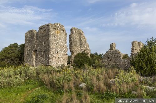 Залив Фискардо и Венецианский маяк