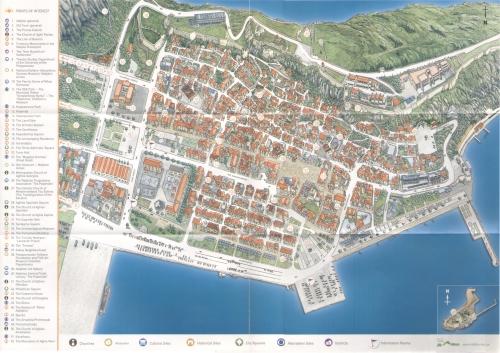 Nafplio map