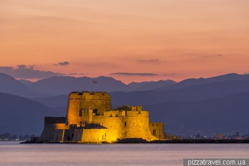 Крепость Бурдзи в Нафплионе