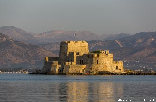 Фортеця Бурдзі в Нафпліоні