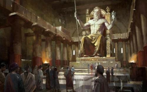 Statue of Olympian Zeus