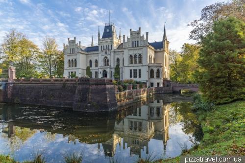 Evenburg Castle in Leer