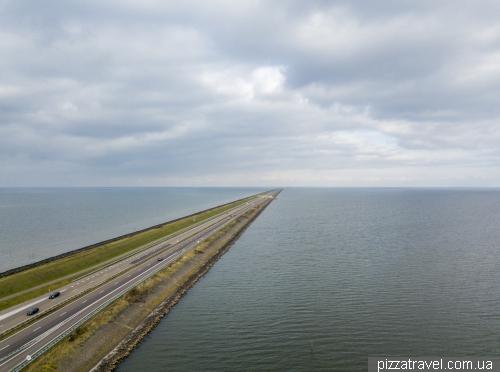 Дамба Афслёйтдейк (Afsluitdijk)