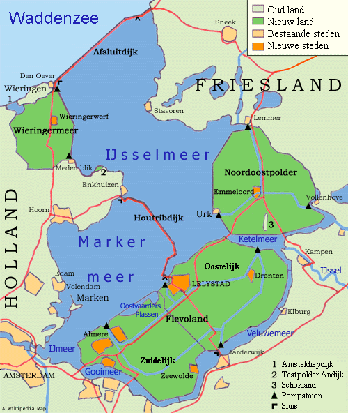 New Territories of the Netherlands