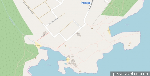 Карта бухты Сальмуния