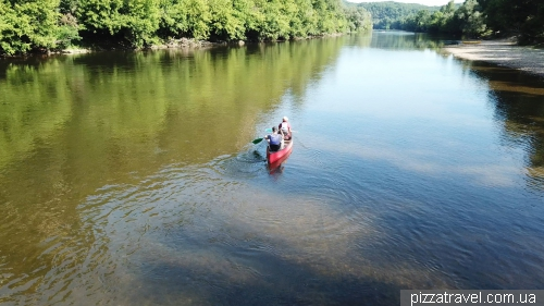 Rafting on the Dordogne River