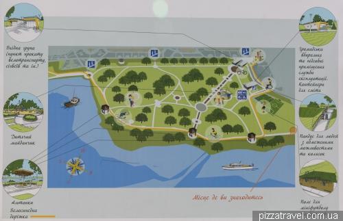 Парк Наталка на Оболонській набережній