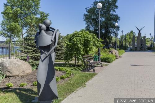 Stone Park on Obolon Promenade