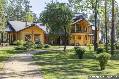 Sukholuchchya, the hunting residence of Yanukovych