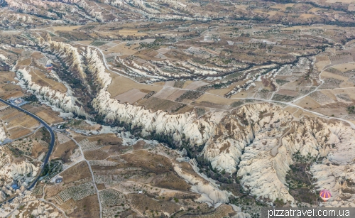The Valley of Love in Cappadocia