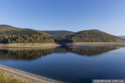 Oderstausee Reservoir
