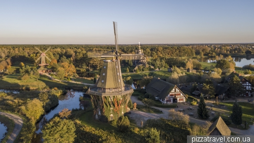 The Sanssouci mill in Gifhorn