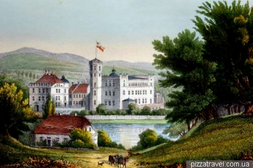 Замок Базедов в 19 веке