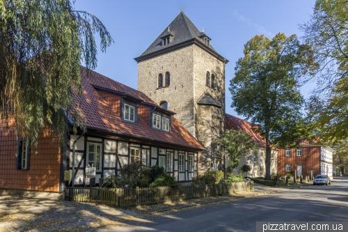 Замок и парк в Вольфсбурге