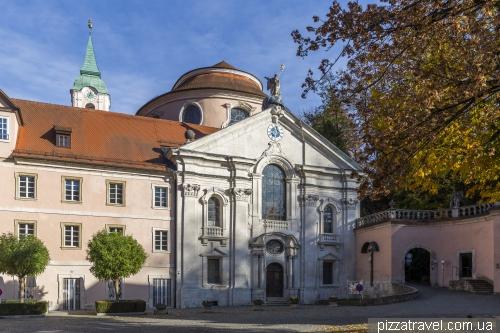 Монастырь Вельтенбург (Kloster Weltenburg)