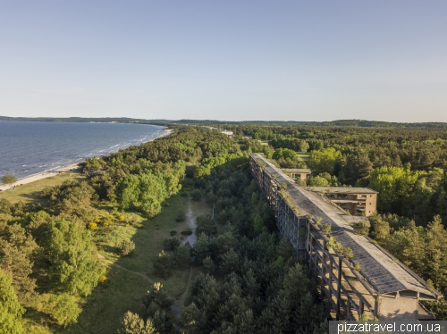 Prora giant holiday home on the island of Ruegen