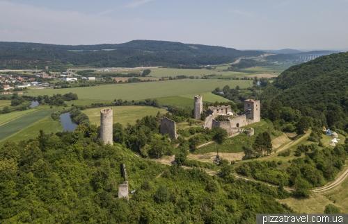 Руины замка Бранденбург