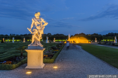 Royal Gardens of Herrenhausen in Hannover