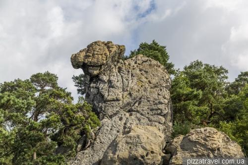 Скалы Дорен (Doerenther Klippen)