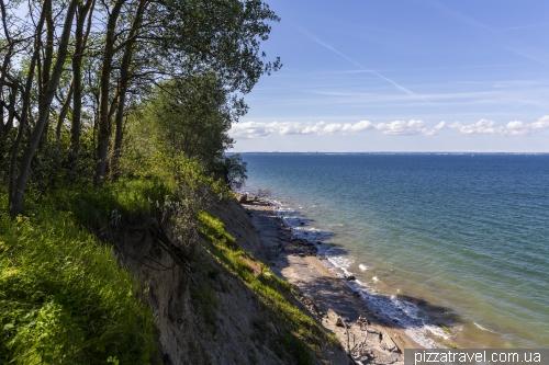 High shores between Travemunde and Nindorf