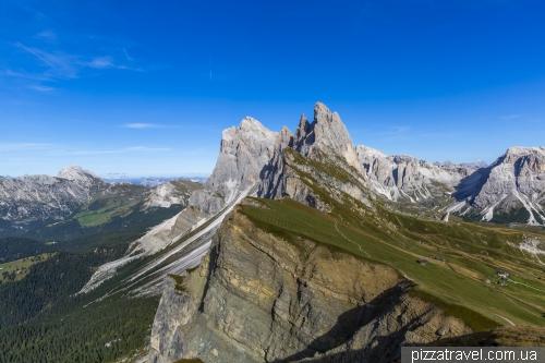 Гора Сечеда (Seceda)