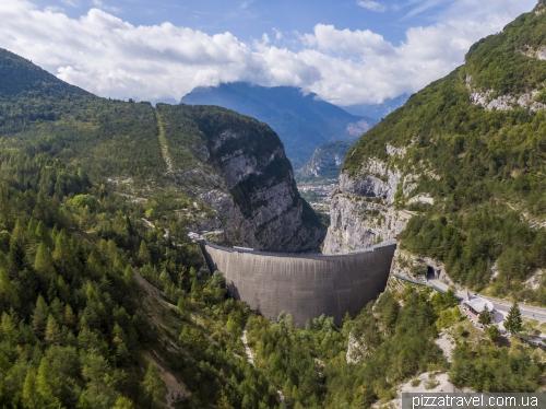 Дамба Вайонт (Vajont Dam)
