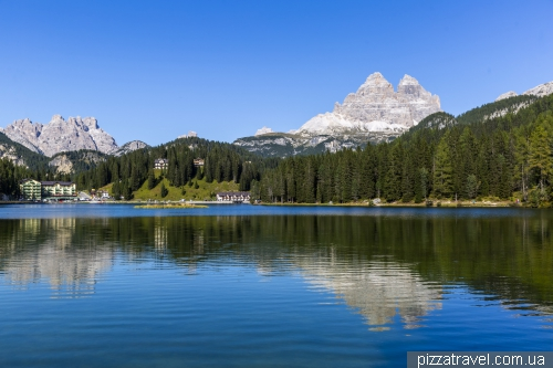 Озеро Мизурина (Lago di Misurina)