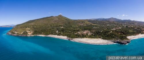 Cala dArconte Beach and Capogrosso Beach