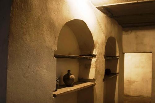 Подземные помещения. В 18 веке здесь была холодильная камера.