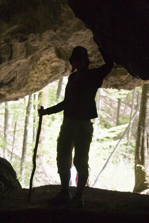 Пещера Молочный камень в Карпатском биосферном заповеднике