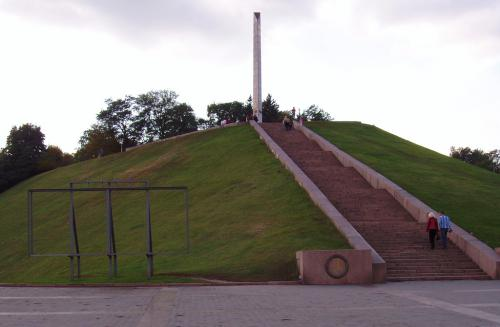 Boldina Hill, monument to the Unknown Soldier
