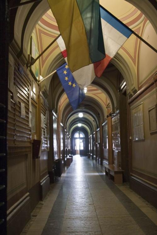 Внутри университета