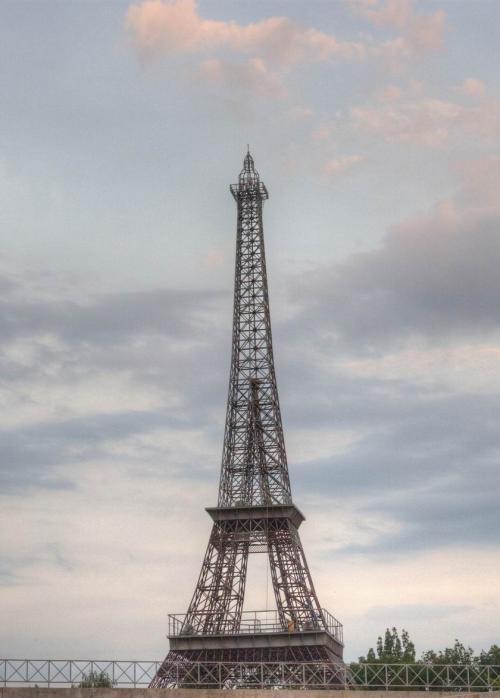 Suddenly, the Eiffel Tower