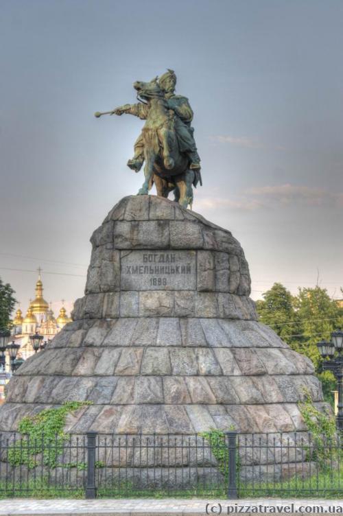 Monument to Bogdan Khmelnytsky