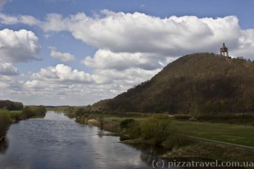 Wesel river