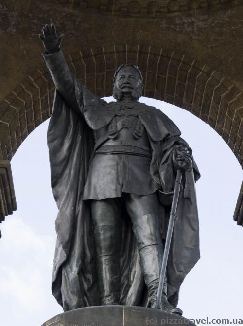 Монумент кайзеру Вільгельму I в Порта-Вестфаліка