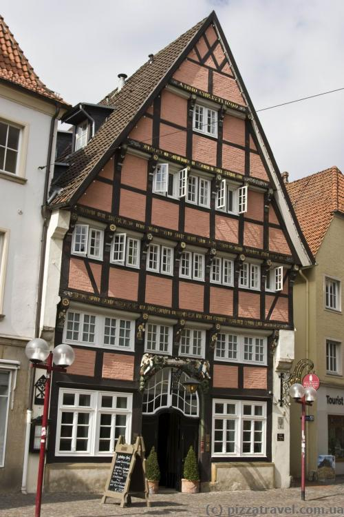 Tudor style house in Osnabrueck