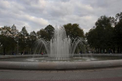 Фонтан у сквері Леніна