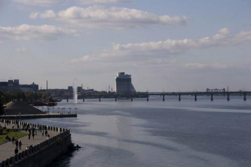 Dnipro river view