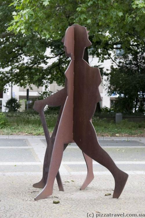 Outdoor sculpture in Hannover