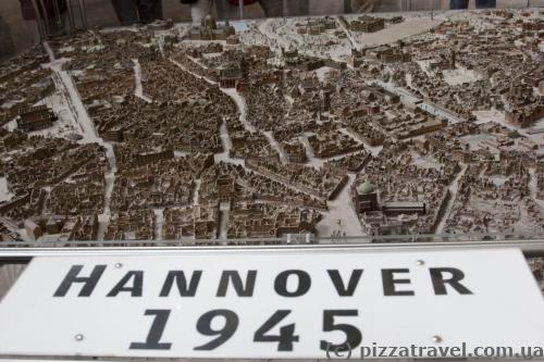 In 1945 Hannover was completely destroyed.