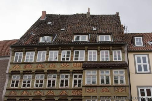 Oldest half-timbered house in Hannover (1566)