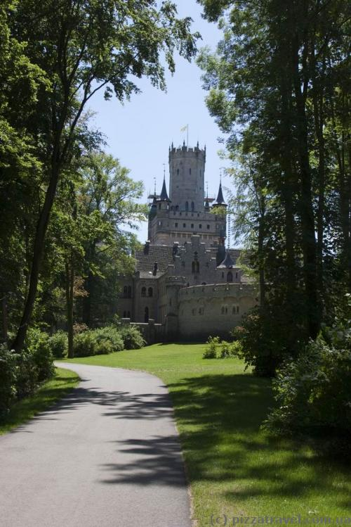 Marienburg Castle from the parking side