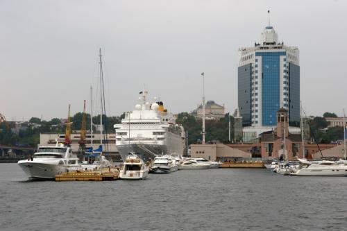 Odessa sea port. Odessa hotel