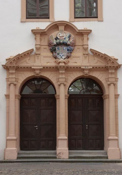 Двери в замке в Целле