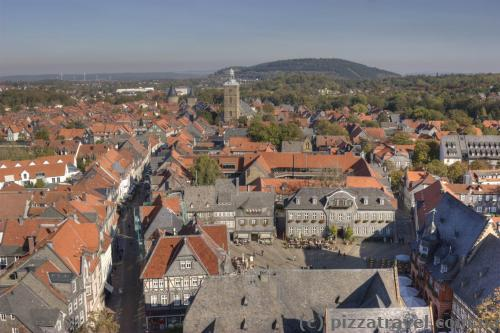 View of Goslar from the Cosmas and Damian сhurch
