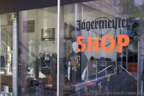 Jaegermeister shop