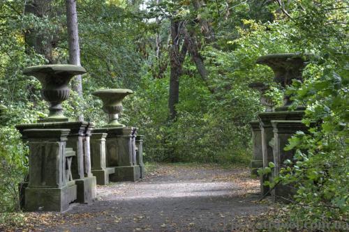 Замковый парк в Рингельхайме