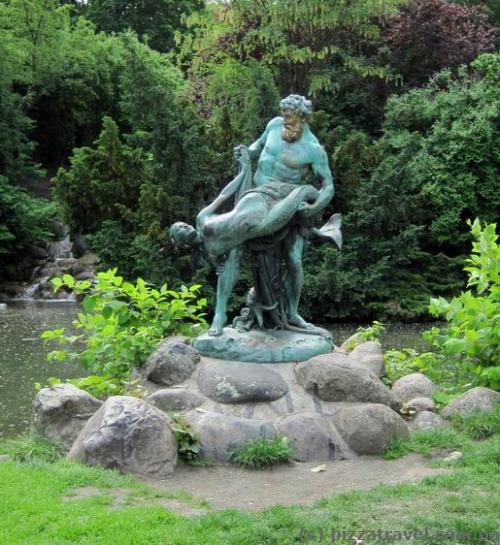 Парк Виктория в Берлине