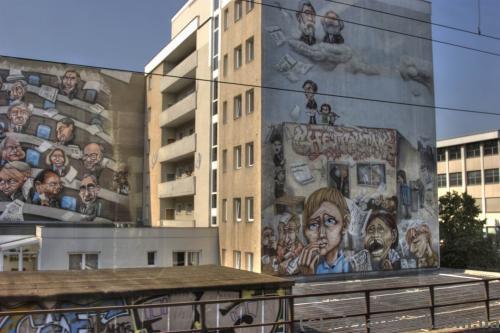 Граффити в Берлине